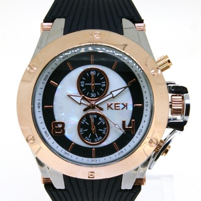 KEK horloge unisex zwart