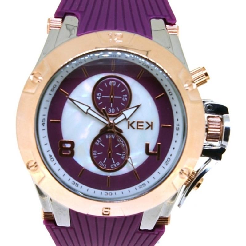 KEK horloge unisex paars
