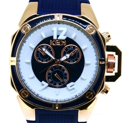 KEK horloge unisex donkerblauw