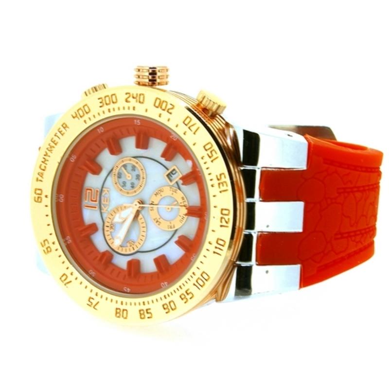 KEK horloge unisex koraal