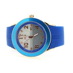 KEK horloge unisex blauw