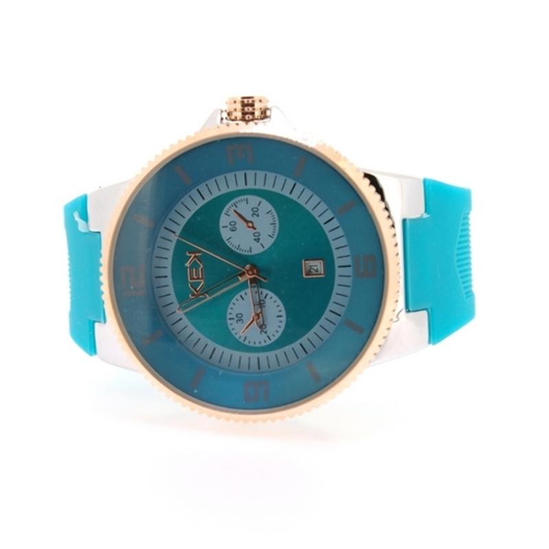 KEK horloge unisex turquoise