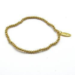 Armband 3mm goud metaal