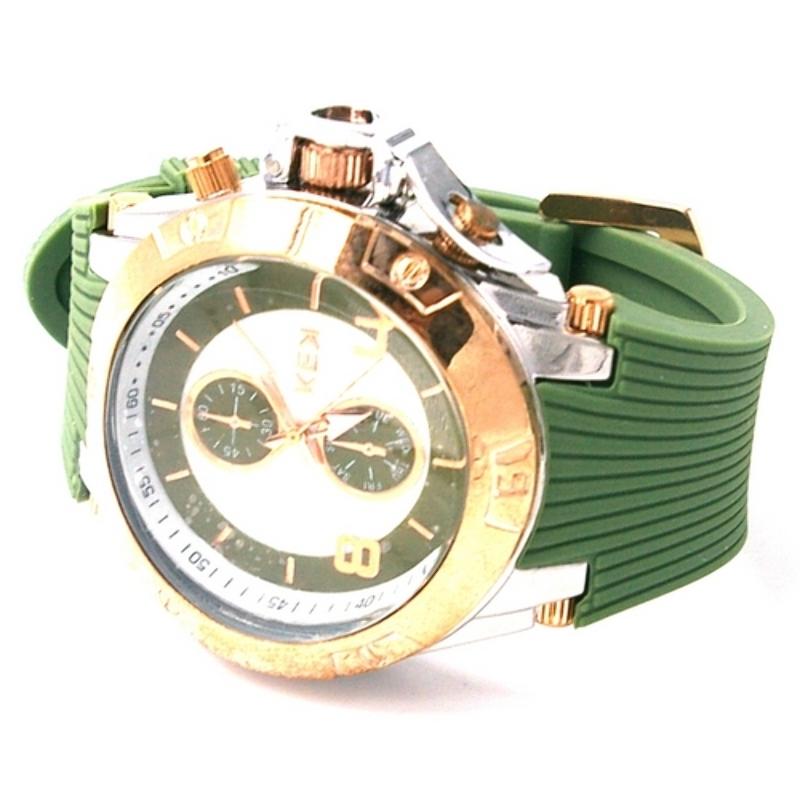 KEK horloge unisex legergroen