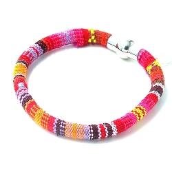 Armband aztec koord met mix kleuren