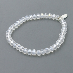 Armband facet 6mm (crystal)