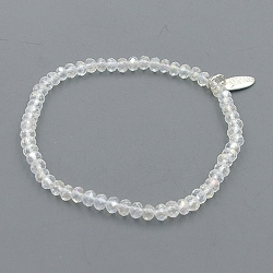 Armband facet 4mm (crystal)