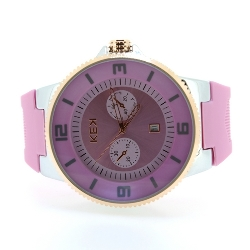 KEK horloge unisex roze