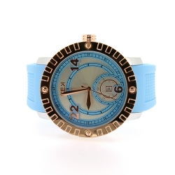 KEK horloge unisex lichtblauw