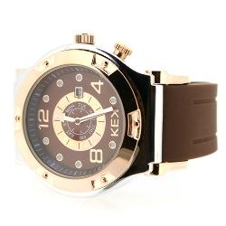KEK horloge unisex bruin